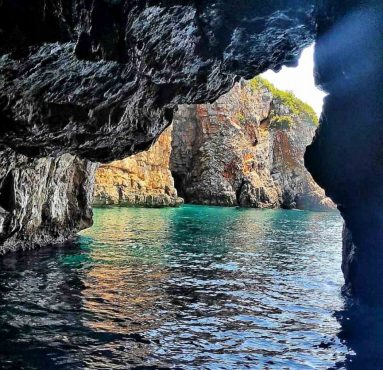 blue cave motnenegro