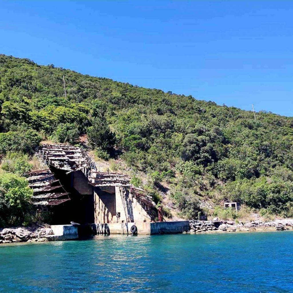Submarine Tunnels Montenegro